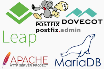 openSUSE Postfix Dovecot Apache MariaDB